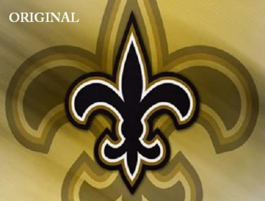 New Orleans Saints #2 Cross Stitch Pattern NFL Football ETP