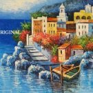 Mediterranean Riviera Villas... ~Counted~ Cross Stitch Pattern ETP
