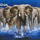Wild Elephants... ~Counted~ Cross Stitch Pattern ETP
