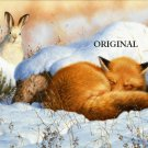 Fox Snoozes & Loses ~ Counted Cross Stitch Pattern  ETP