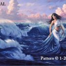 Ocean Vision Counted Cross Stitch Pattern Fantasy  ETP