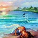 Ocean Dreams Counted Cross Stitch Pattern Seascape  ETP