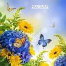 Butterflies & Flowers... ~Counted~ Cross Stitch Pattern ETP