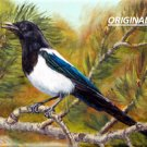 Magpie... ~Counted~ Cross Stitch Pattern ETP