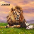 Lion & Lamb... ~Counted~ Cross Stitch Pattern ETP