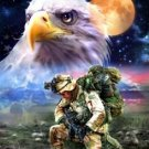 Brave American Hero... ~Counted~ Cross Stitch Pattern ETP