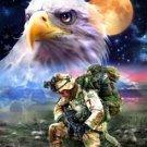 Brave American Hero... ~Counted~ Cross Stitch Pattern ETP