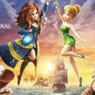 Pirate Fairy ~Counted~ Cross Stitch Pattern ETP