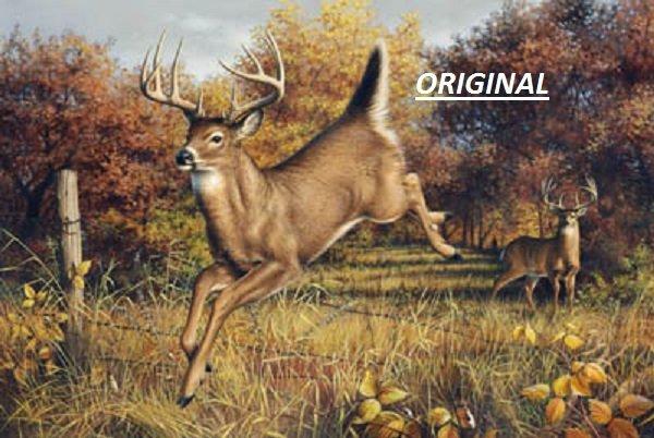 Goodbye, Deer... ~Counted~ Cross Stitch Pattern ETP