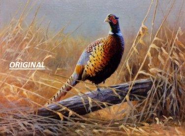 Lone Pheasant... ~Counted~ Cross Stitch Pattern ETP