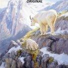 Mountain Goats... ~Counted~ Cross Stitch Pattern ETP