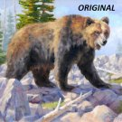 Grizzly Bear... ~Counted~ Cross Stitch Pattern ~Computer Generated~... ETP