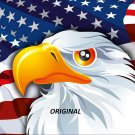 Patriotic Eagle... ~Counted~ Cross Stitch Pattern ~Computer Generated~ ETP