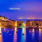 Sestri Levante & Silence Bay, Italy...  ~Counted~ Cross Stitch Pattern ~Computer Generated~  ETP