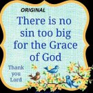 The Grace of God... ~Counted~ Cross Stitch Pattern ~Computer Generated~... ETP