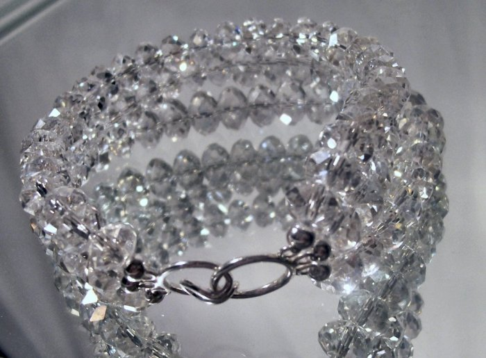 Key Vaca Rock Crystal Bracelet