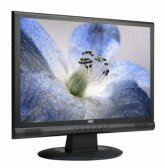 AOC 19LVWK 19 inch 5ms 800:1 Wide-Screen LCD Monitor (Black)
