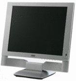 AOC A15X221 15 inch 4:3 400:1 LCD TV Monitor (Silver)