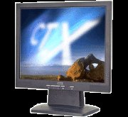 CTX X761A 17 inch 500:1 8ms LCD Monitor with Speaker (Black)