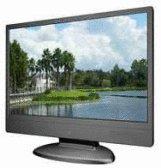 Amonits MW9-SILVER 19 inch Wide-Sreen DVI LCD Monitor (Silver), w/ Speaker