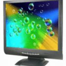 Amonits TC7-BLACK 17 inch DVI LCD Monitor (Black), w/ Speaker