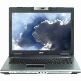 Acer TM2480-2968/LX.TH30Y.072 14.1 inch C-M 1.86GHz/ 512MB/ 80GB/ Combo/ WVHB Notebook Computer