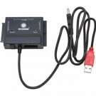Coolmax CD-350-COMBO SATA&IDE-USB2.0 Converter (Black)
