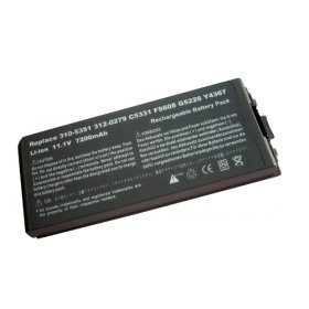 Replacement Laptop Battery GSD0810 for DELL Latitude D810 (11.1V 7200mAh)