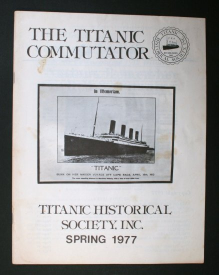 Titanic Commutator - Volume 2 Number 13 - 1977