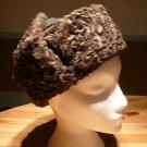 Karakul flap hat