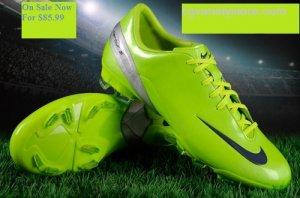 Nike Mercurial Talaria 4 Firm Ground Citron Junior
