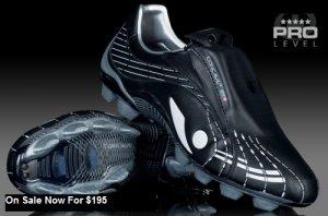 Concave PT FG Mens Boots Black/White