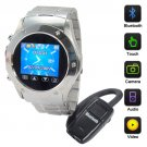 Galactus Cellphone Watch With Video Camera Media Player