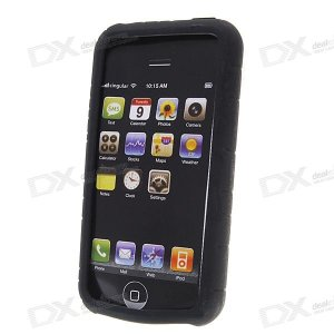 Silicone Case for iPhone (Black)