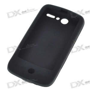 Protective Silicone Case for HTC G7 (Black)