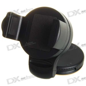 Car Windshield Mini Holder Swivel Mount for Cell Phone (5.0~7.5cm)