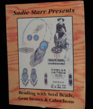 Sadie Starr Presents Reading with Seed Beads, Gem Stones and Cabochons