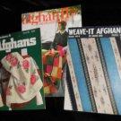3 Afghan Booklets