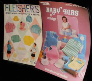 two vintage baby patterns