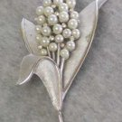 Trifari Pearl Spray Broach
