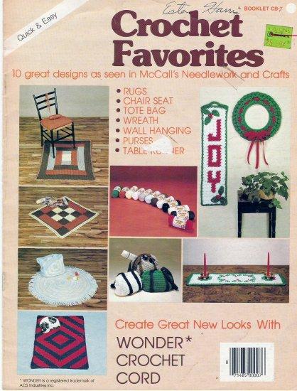 Crochet Favorites Booklet CB-7