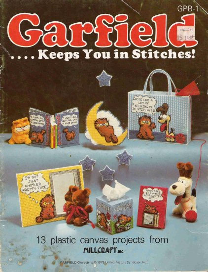Garfield Keeps You in Stitches Craft Book #2PCSC