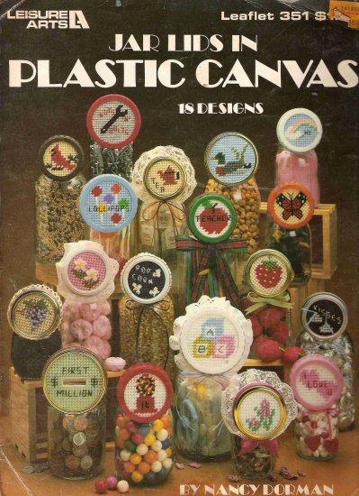 Jar Lids in Plastic Canvas