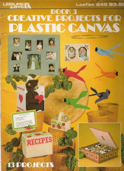 Creative Projects for Plastic Canvas Book 3 Leaflet 245 #1PCSC