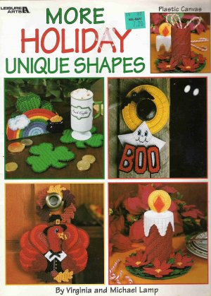 More Holiday Unique Shapes Craft Book #1PCSC