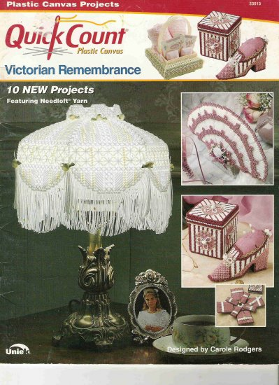Victorian Remembrance in Plastic Canvas Craft Book #2PC
