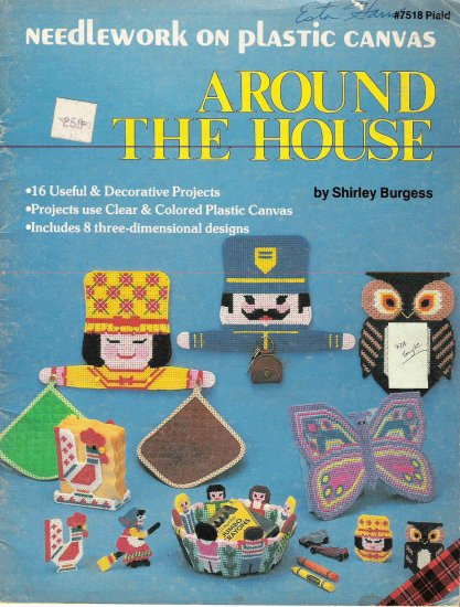 Around the House Craft Book for Plastic Canvas #2PC