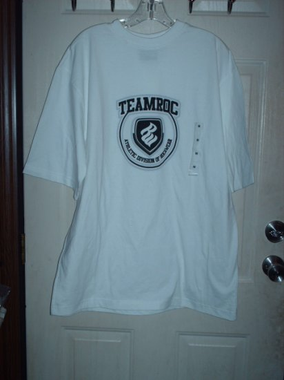 Rocawear T-Shirt White Sz Large