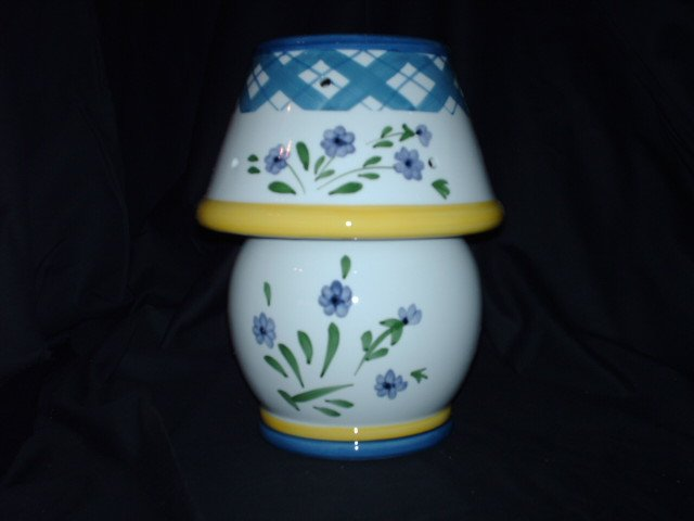 Very Beautiful Candle Jar Lamp - NIB