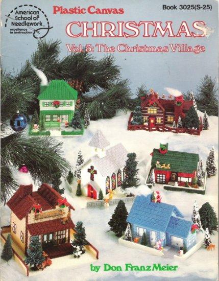 Plastic Canvas Christmas Volume 5 The Christmas Village
